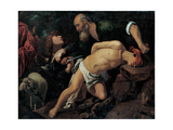 The Sacrifice of Isaac, C. 1615 Giclee Print by Pedro Orrente