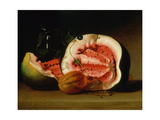 Melons and Morning Glories, 1813 Giclee Print by Raphaelle Peale