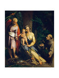 The Rest on the Flight into Egypt Giclee Print by  Correggio