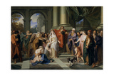 Susannah Accused of Adultery, 1695-1696 Giclee Print by Antoine Coypel
