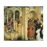 The Marriage of Mary and Joseph, C.1420 Giclée-Druck von Robert Campin