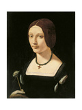 Portrait of a Lady as Saint Lucy Giclee Print by Giovanni Antonio Boltraffio