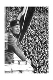 Benito Mussolini (1883-194), Italian Fascist Dictator Giclee Print
