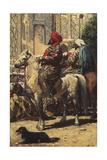 A Horseman in Samarkand, 1872 Giclee Print by Vasili Vasilyevich Vereshchagin