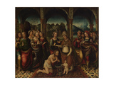 Baptismal Ceremony, End of 16th C Giclee Print by Amico Aspertini