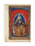 Trinity (Book of Hour), 1475-1499 Giclee Print