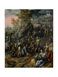 Christ Carrying the Cross, 1562 Giclee Print by Joachim Beuckelaer