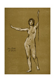 Study for the Gates of Dawn, 1900 Giclee Print by Herbert James Draper