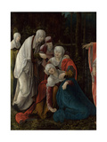 Christ Taking Leave of His Mother, C. 1520 Giclee Print by Wolf Huber