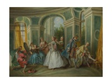 The Four Ages of Man: Youth, Ca 1735 Giclee Print by Nicolas Lancret