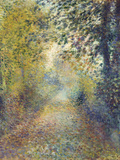 In the Woods, C. 1880 Giclée-tryk af Pierre-Auguste Renoir