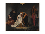 The Execution of Lady Jane Grey, 1833 Giclee Print by Paul Hippolyte Delaroche