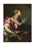 Saint Catherine of Alexandria Giclee Print by Giovanni Antonio Pellegrini