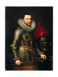 Portrait of Ambrosio Spinola (1569-163), 1609 Giclee Print by Michiel Jansz Van Miereveld