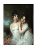 Portrait of Countesses E.A. and A.A. Kurakin, 1802 Giclee Print by Vladimir Lukich Borovikovsky