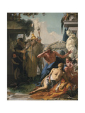 The Death of Hyacinthus, C.1753 Giclee Print by Giambattista Tiepolo