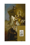 The Vision of Saint Paschal Baylon, 1767-1769 Giclee Print by Giambattista Tiepolo