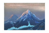 Himalayas, 1943 Giclee Print by Nicholas Roerich
