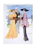 Fashion Illustration, 1935 Giclee Print