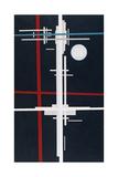 Suprematist Composition, 1923 Giclée-trykk av Ilya Grigoryevich Chashnik