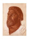Portrait of the Architect Leonid Romanovich Sologub (1884-195), 1933 Giclee Print by Alexander Yevgenyevich Yakovlev