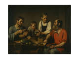 Peasant Family before Dinner, 1824 Giclee Print
