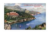 Grand Hotel Splendide, Portofino, Italy, 20th Century Giclee Print