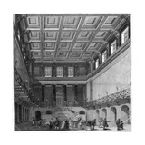 The Great Hall, Euston Square Satation, 1849 Giclee Print