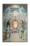 The Saviour Enthroned, 1905 Giclee Print by Mikhail Vasilyevich Nesterov