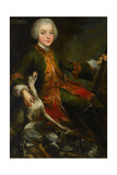 Portrait of Józef Sapieha (1737-179), C. 1740 Impression giclée par Augustyn Mirys