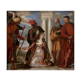 The Martyrdom of Saint Justine, 1570S Giclee Print by Paolo Veronese