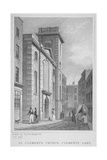 Church of St Clement, Eastcheap, City of London, 1831 Giclee Print by Thomas Hosmer Shepherd