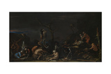 Witches at their Incantations, C. 1646 Giclee Print by Salvatore Rosa
