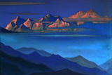 Kangchenjunga, 1944 Wydruk giclee autor Nicholas Roerich
