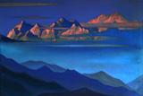 Nicholas Roerich - Kangchenjunga, 1944 - Giclee Baskı