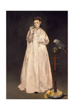 Young Lady in 1866, 1866 Giclee Print by Édouard Manet