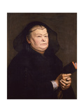 Portrait of a Widow, 1630-1640 Giclee Print by Justus Sustermans