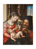 The Holy Family, C. 1527-1530 Giclee Print by Jan Gossaert
