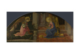 The Annunciation (Medici Pane), C. 1450 Giclee Print by Fra Filippo Lippi