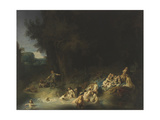Diana with Actaeon and Callisto, 1634 Giclee Print by  Rembrandt van Rijn
