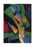 The Smoker (Frank Havilan), 1913 Giclee Print by Juan Gris