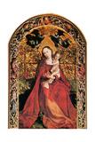 Madonna in Rose Garden, 1473 Giclee Print by Martin Schongauer