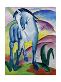 Blue Horse I, 1911 Giclee Print by Franz Marc