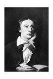 John Keats, English Poet, 19th Century Giclee Print by William Hilton