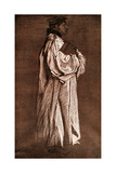 Study of a Sleeve, 1899 Giclee Print by Edwin Austin Abbey