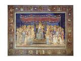 Maestà, 1315-1321 Giclee Print by Simone Di Martini