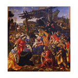 The Adoration of the Magi, 1496 Giclee Print by Filippino Lippi