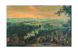 The Battle of Lesnaya, 1720S Giclee Print by Nicolas de Larmessin