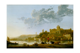 The Valkhof at Nijmegen, 1652-1654 Giclee Print by Aelbert Cuyp