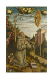 The Vision of the Blessed Gabriele, 1489 Giclee Print by Carlo Crivelli